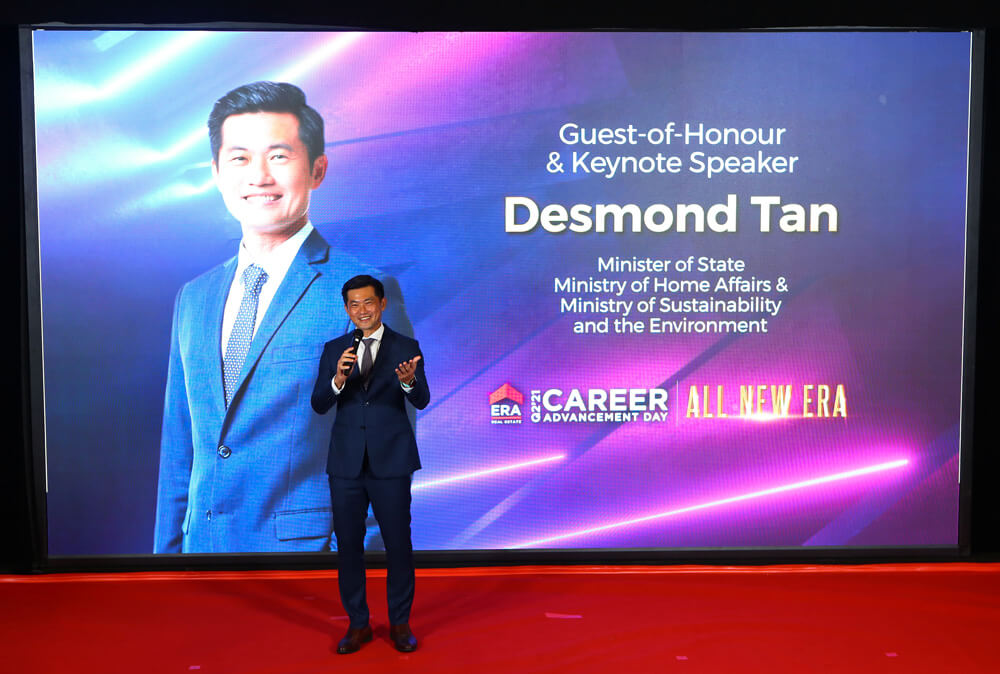Keynote address by Guest of Honour Mr Desmond Tan, Minister of State for Minister of State for Home Affairs & Sustainability and the Environment.